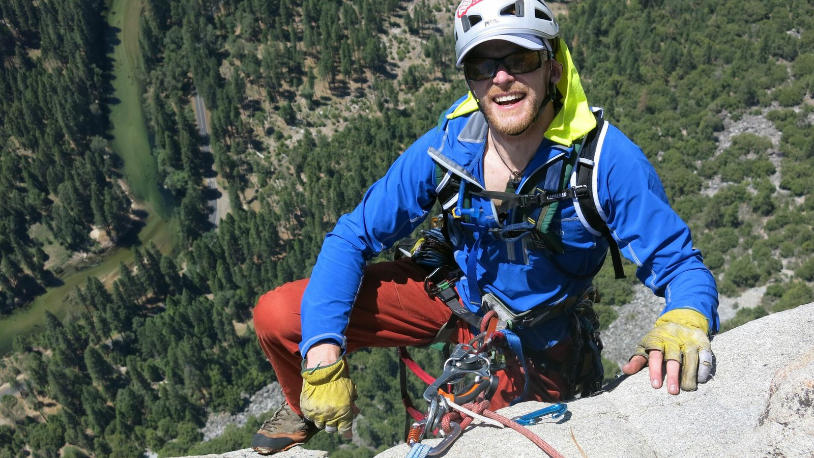 Having trained as an alpine guide, Steve Bate's feats include becoming the first person with visual impairment ...