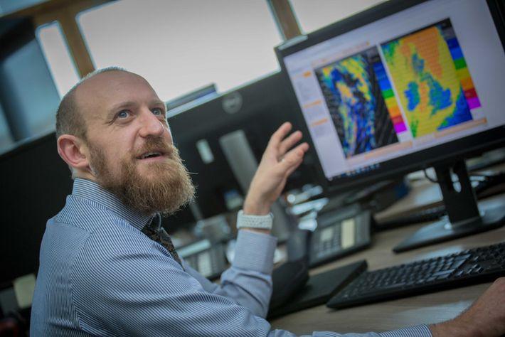 Chief operational meteorologist Steve Ramsdale.