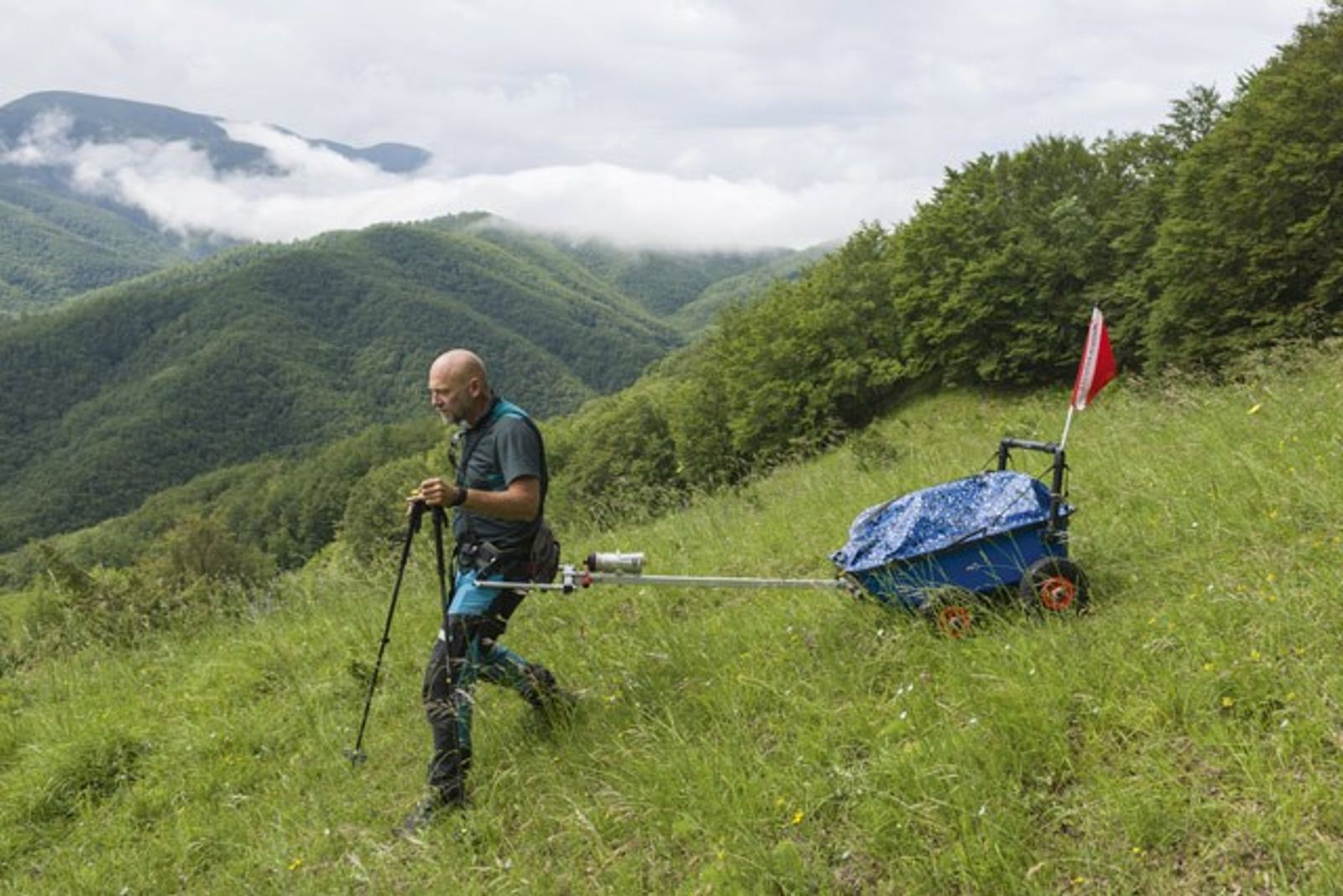 Tuscany: what on earth is armadillo trekking?
