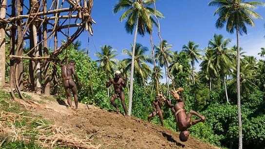 Land-diving, Pentecost Island, Vanuatu.