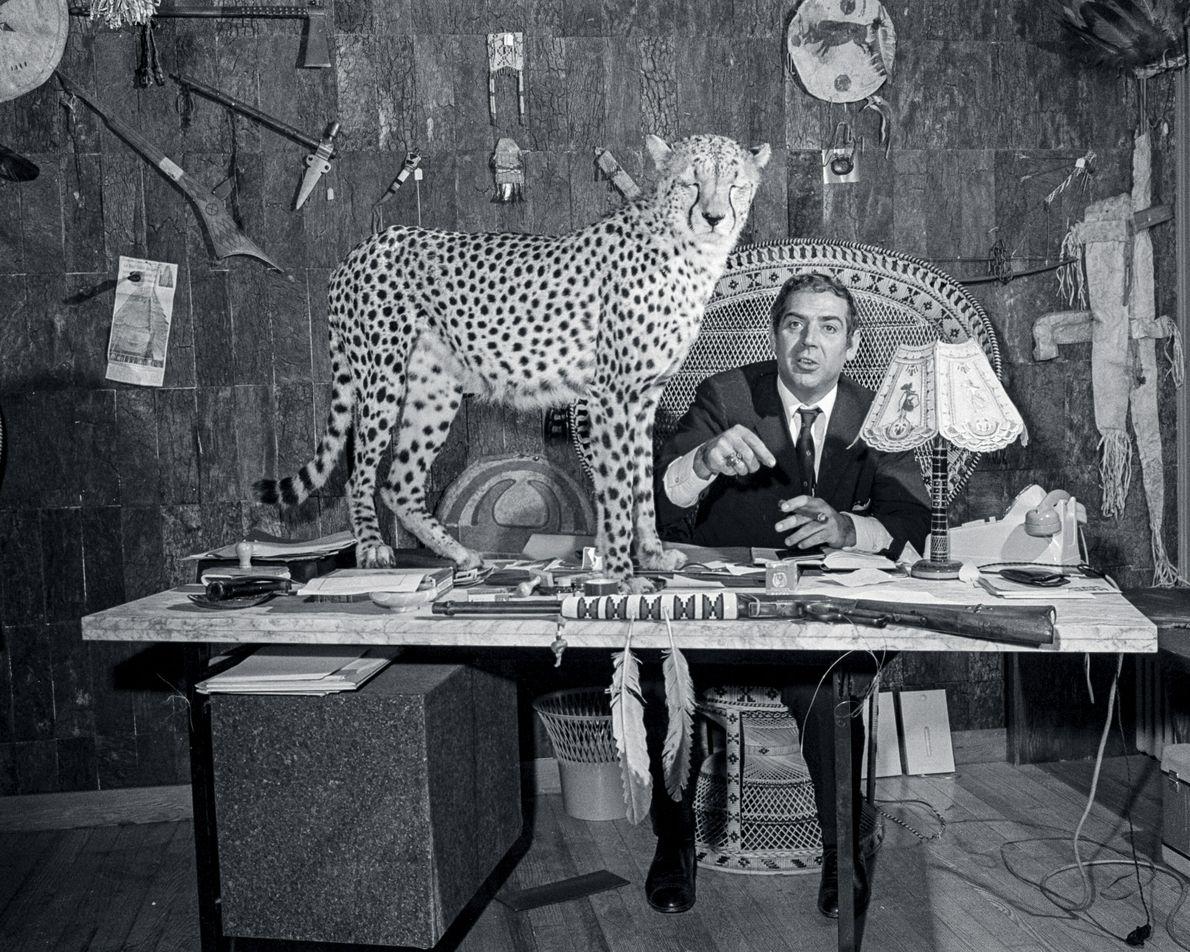"Smoking a cigar in his Parisian shop, Raymond Cordier had a waiting list of ""40 jet-set ..."