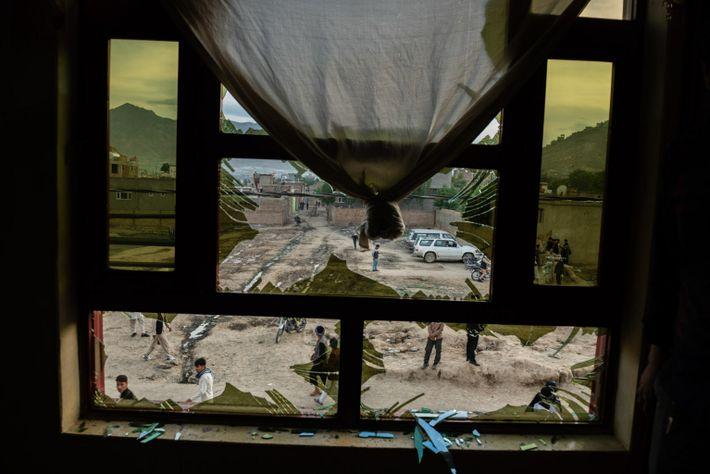 On May 8, 2020, three bombs exploded outside a school in the Dasht-e Barchi neighborhood in ...
