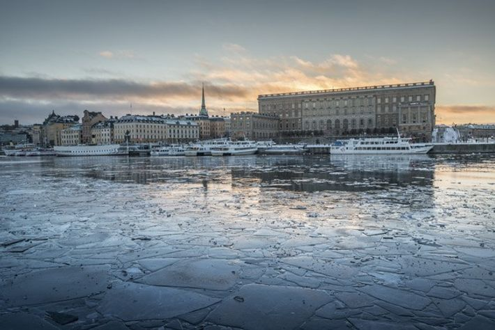 Looking towards the Royal Palace on Gamla Stan. Image: Diana Jarvis