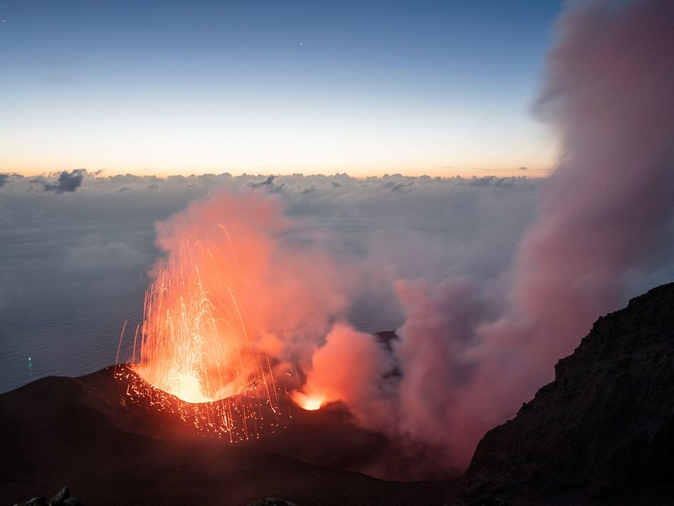 What it's like to live in the shadow of an active volcano