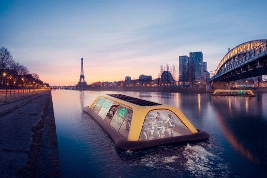 Paris Navigating Gym. Image: Carlo Ratti Associati