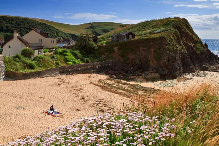 Sunny Cove in Devonis the perfect spot for getting away from it all: take the track ...