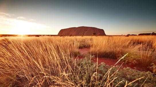 Australia's Uluru-Kata Tjuta National Park, a UNESCO World Heritage site, protects Uluru (the monolith formerly called ...