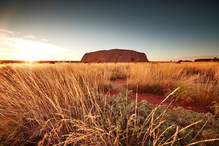 Australia's Uluru-Kata Tjuta National Park, a UNESCO World Heritage site, protects Uluru (the monolith formerly called ...