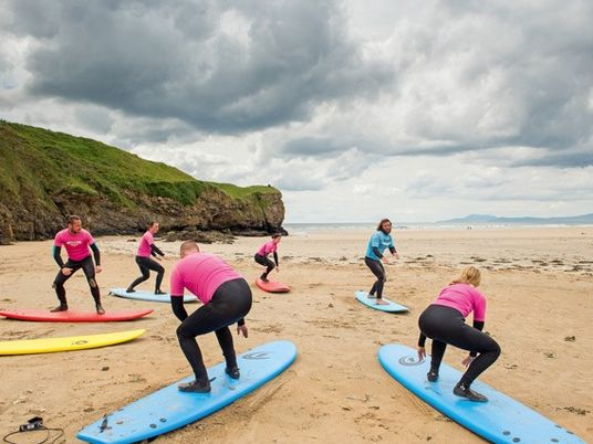 Donegal: Surf's up