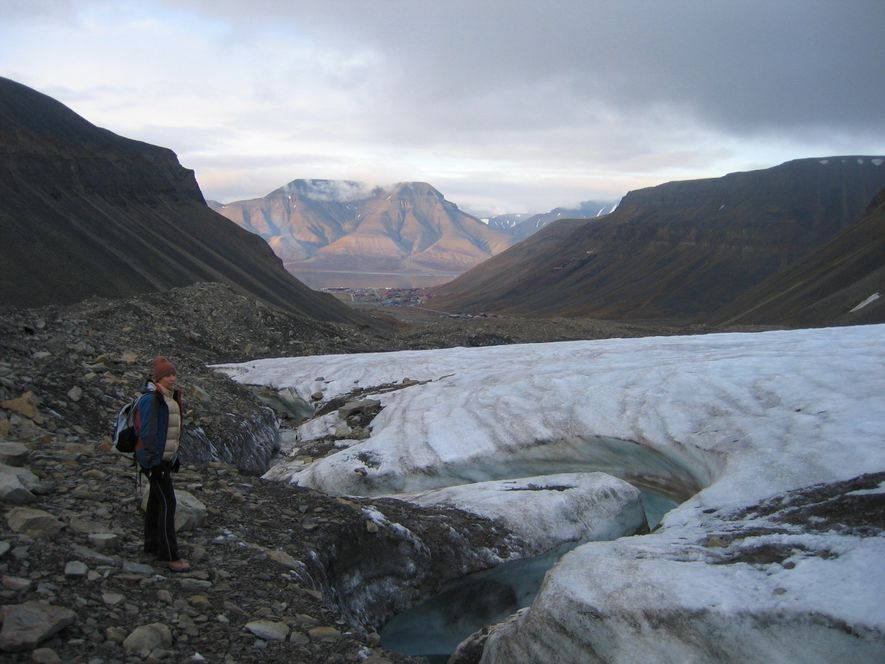 "The other geographical love of Dr Mary Gagen's life - the Arctic. ""I think I am ..."