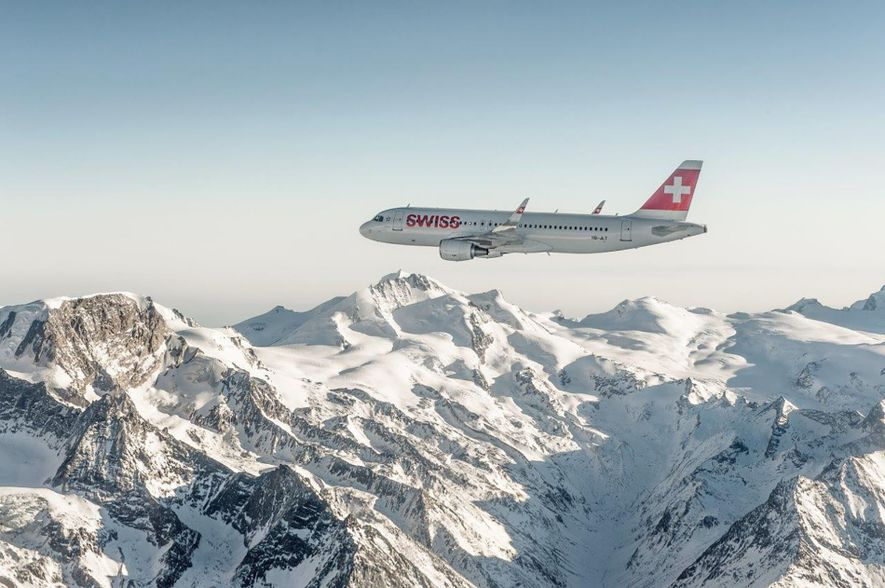 SWISS offers more than 60 weekly flights from London Heathrow and London City airports to Geneva