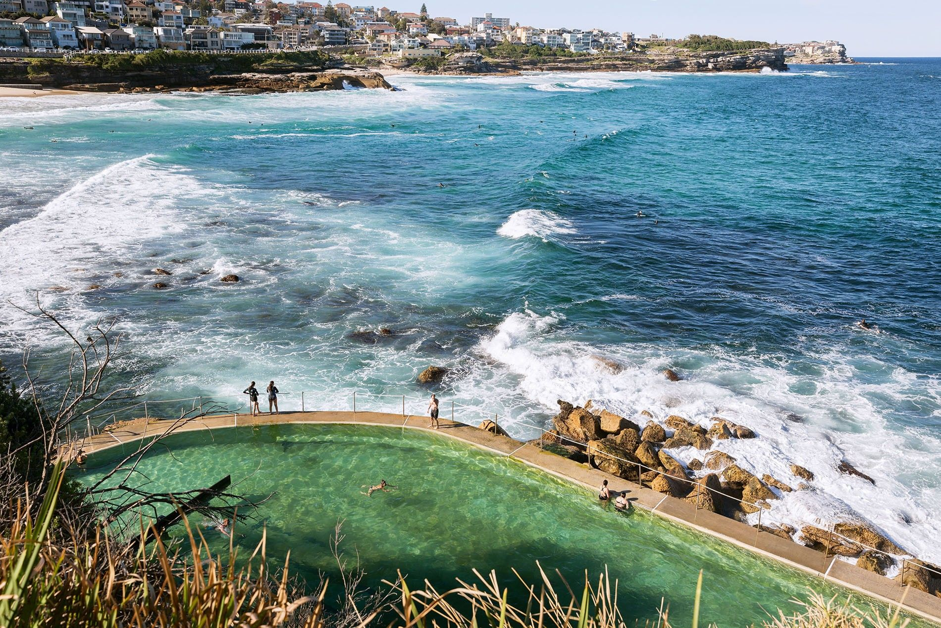 Bronte Ocean Pool. There are more man-made ocean pools in Sydney than in any other city ...