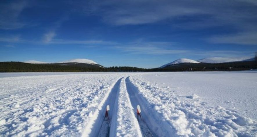 Cross country, Finland.
