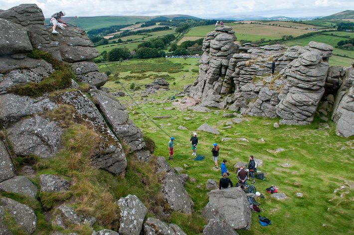 Climbers heading to Dartmoor will enjoy a range of granite tors suitable for all levels.