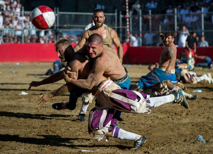 The official rules of calcio storico were written in 1580 by Giovanni de Bardi, a count ...