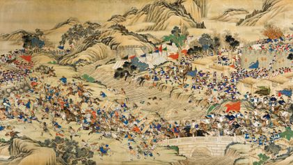 This religious revolt nearly toppled China's last imperial dynasty