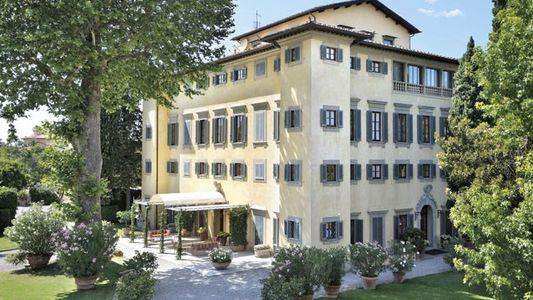 Family travel: Villa la Massa, Florence, Italy