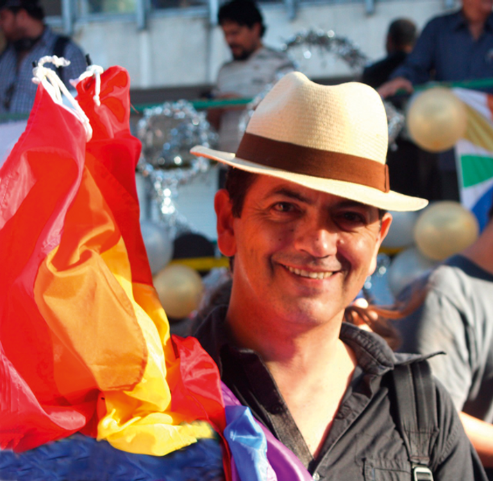 Edgardo Fernández Sesema, a tango teacher and activist, is famed for his Queer Tango flash mobs, ...