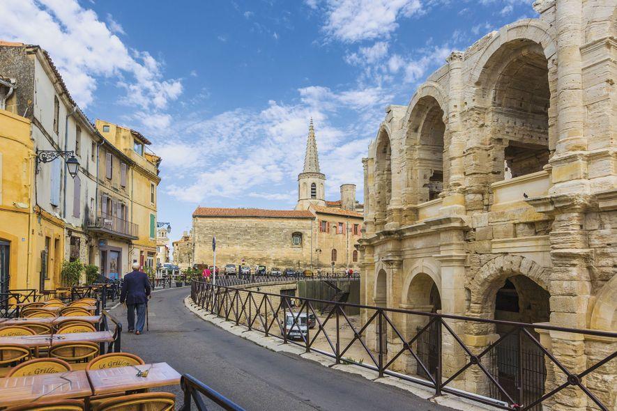 Roman amphitheatre, Arles.