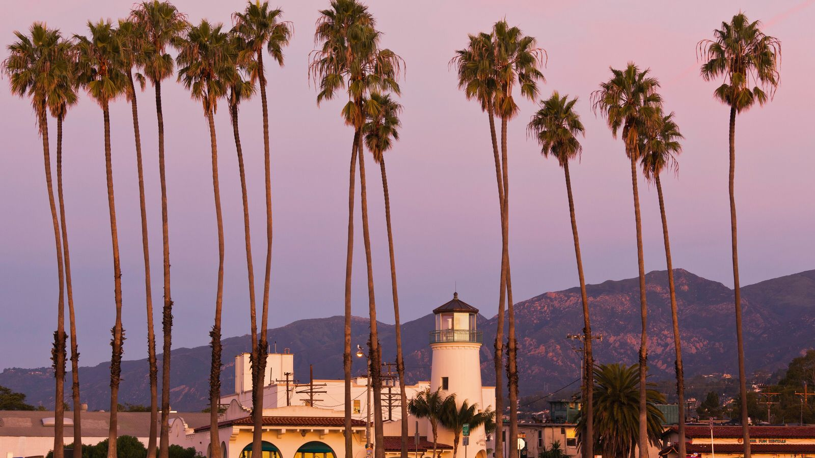 Santa Barbara borders some of California's best wine country, its unique geography allowing a sea breeze ...