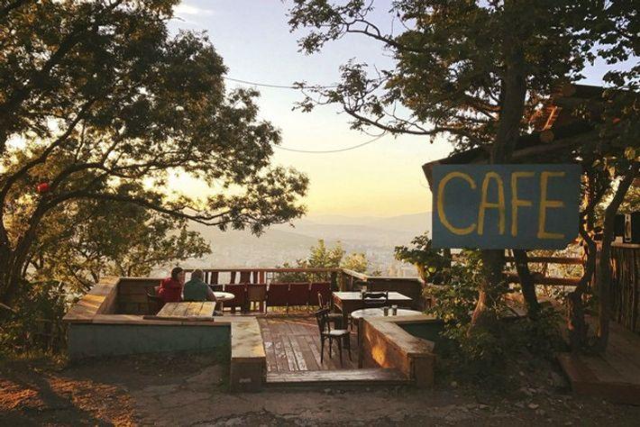 Sunset at Mzesumzira's Cafe. Image: Mzesumzira's Cafe
