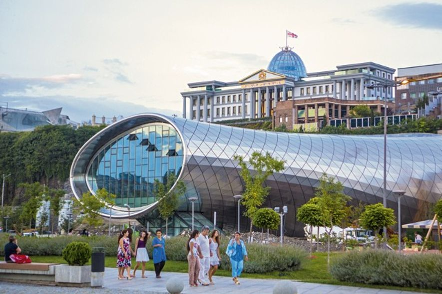 The New Opera House and Presidential Palace