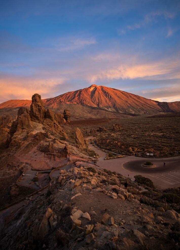 Teide National Park in the centre of the island includes Spain's highest peak, Pico del Teide ...