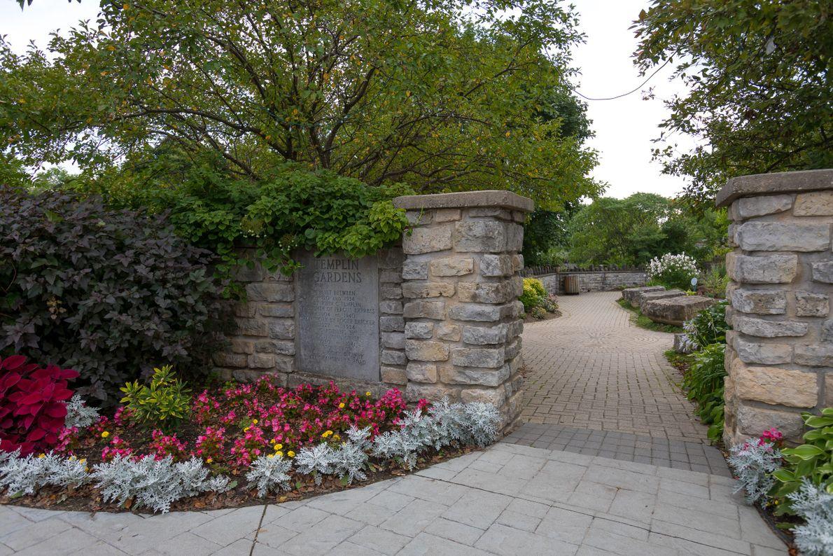Templin Gardens was built by John C. Templin as a gift for his wife, an avid ...
