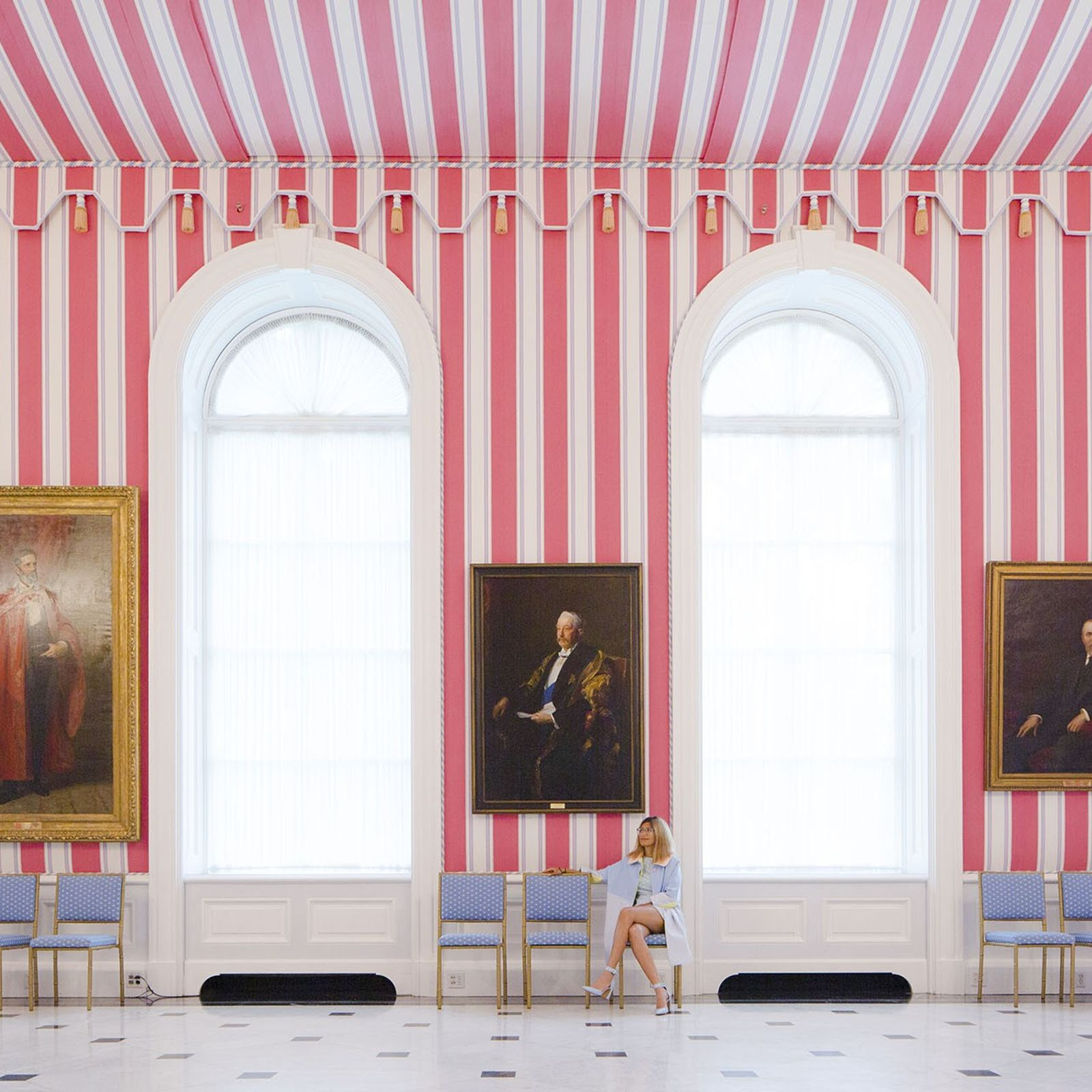 Tent Room at Rideau Hall.