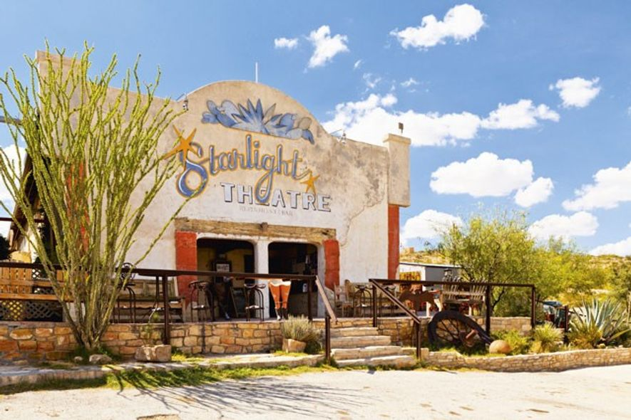 Starlight Theatre, Terlingua. Image: 4Corners