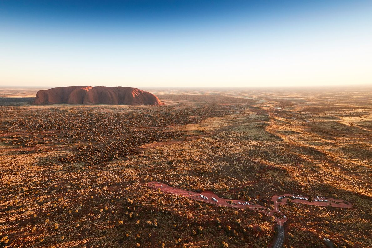 Anangu people describe five seasons in the area: cooler weather in April and May; a cold ...