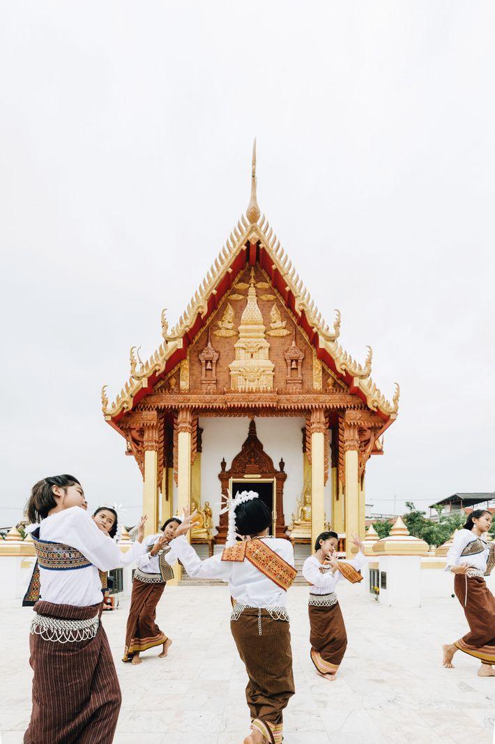 Temple of Wat Prathat Renu Nakhon
