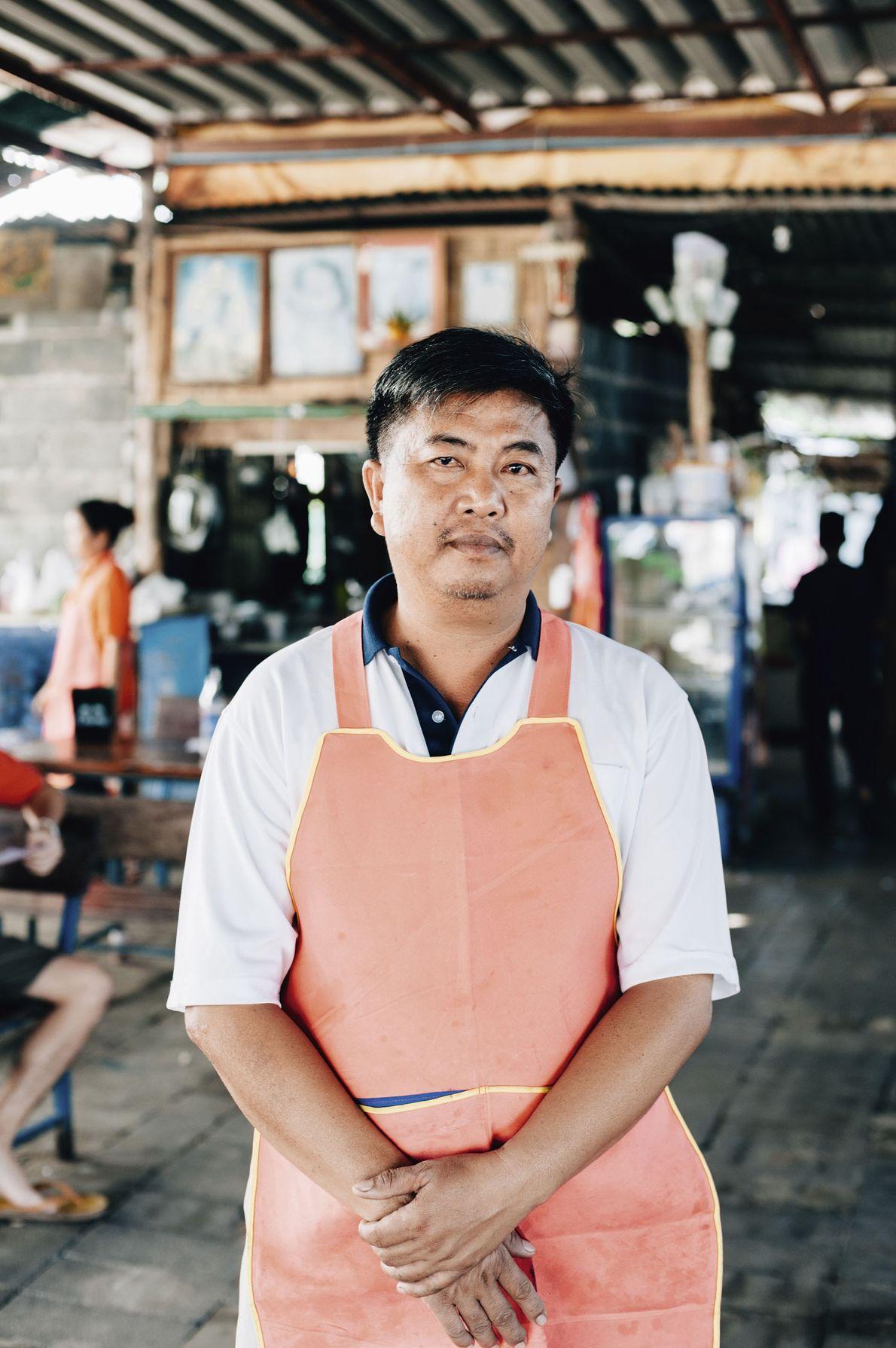 A man in Nakhon Phanom