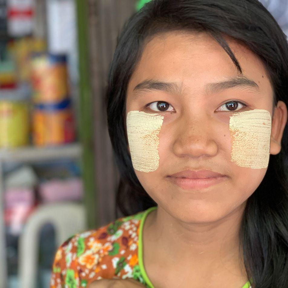 In Myanmar, everyone swears by this natural skin cosmetic