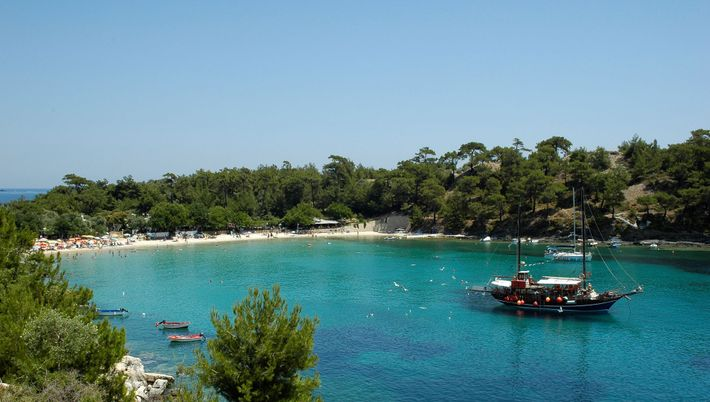 Beaches are unrivalled on Thasos, with Golden Beach the most celebrated place to soak up the ...