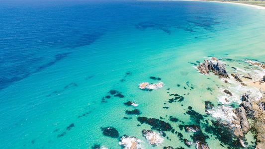 Coastal bounty: Surf breaks and seafood