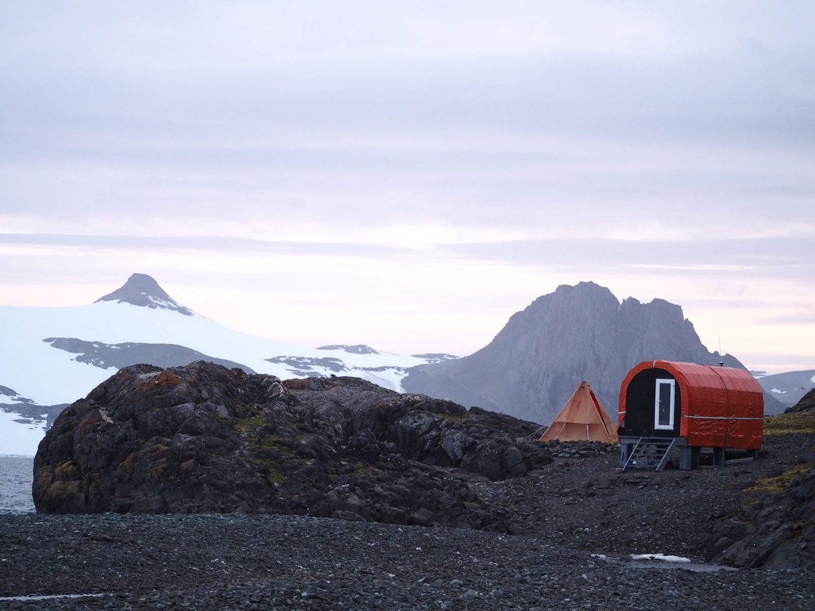 The Instituto Antartico Chileno (INACH) Refugio Collins on King George Island – field base for some of ...