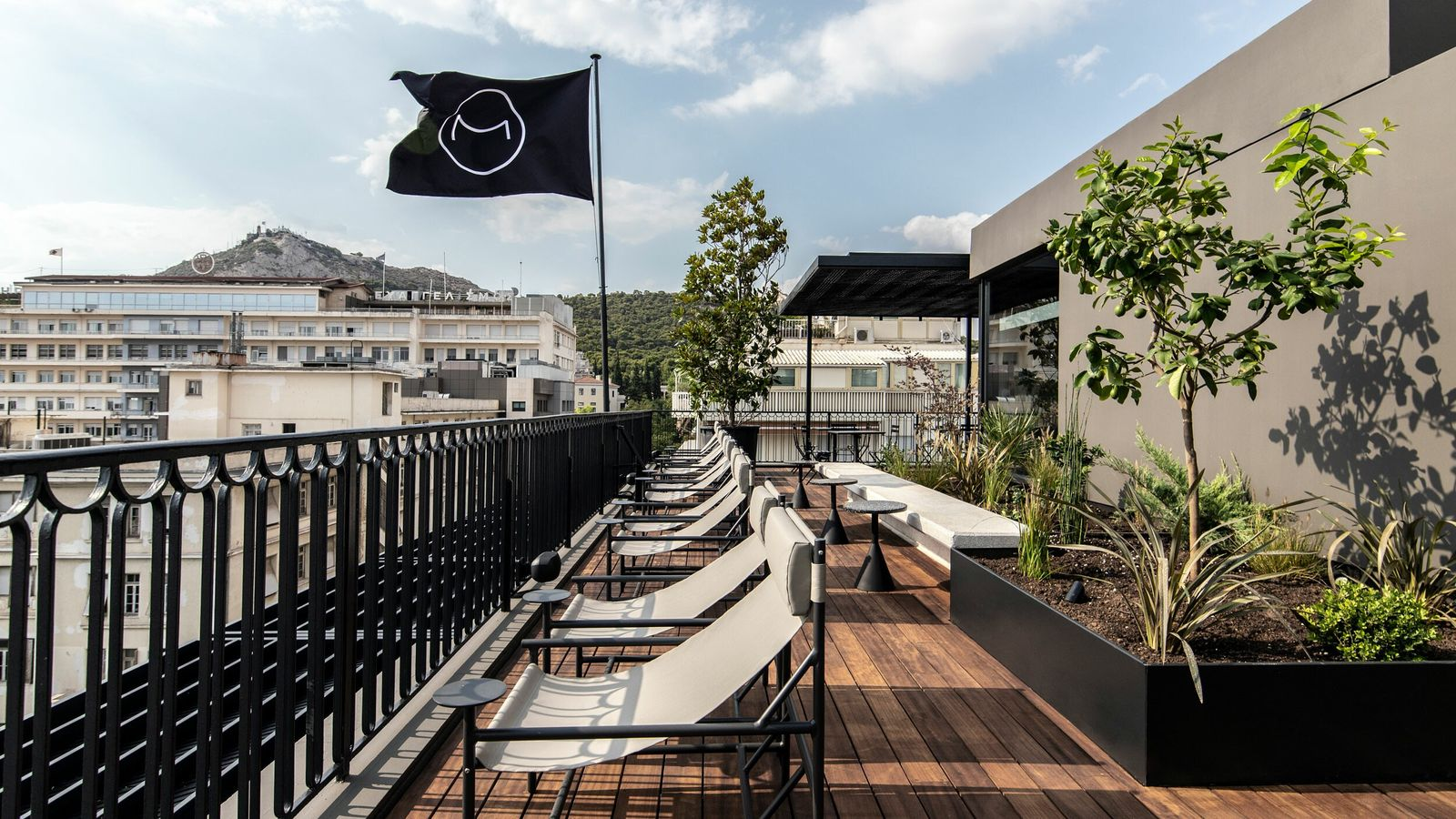 Among the new openings in the Greek capital is The Modernist Athens, where a top-floor terrace ...