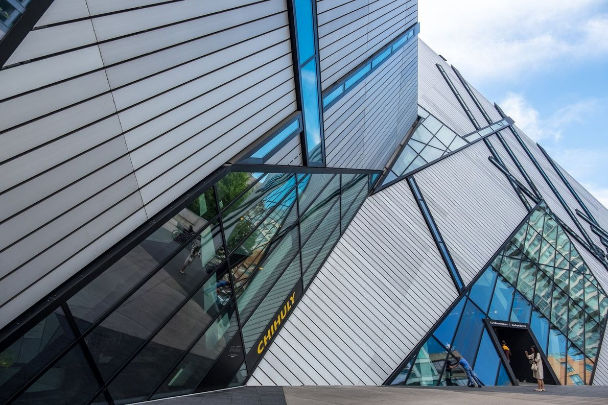 The Royal Ontario Museum is the largest museum in Canada attracting more than one million visitors ...