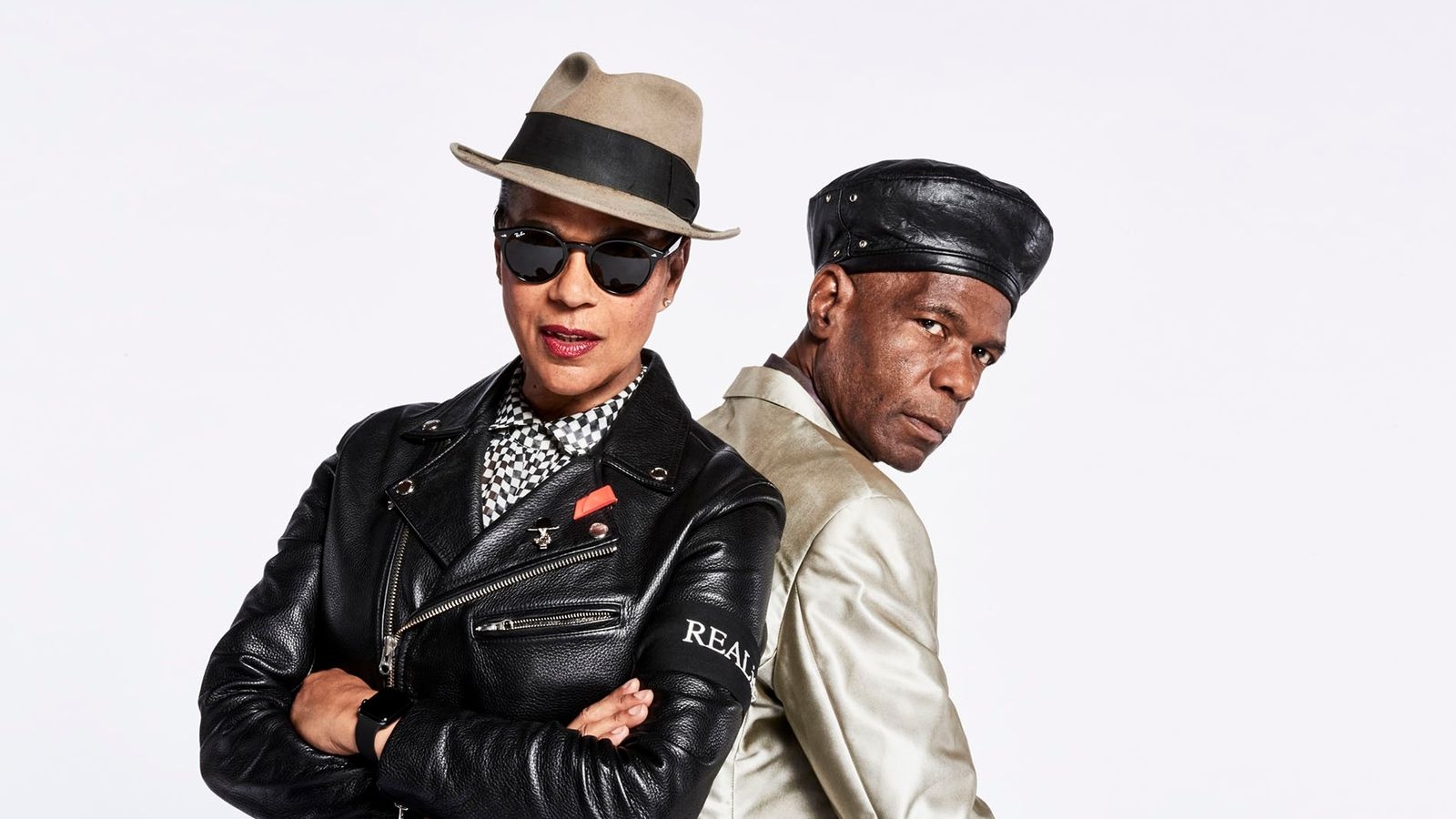 2 Tone icon Pauline Black with The Selecter bandmate, Arthur 'Gaps' Hendrickson. Pauline moved to Coventry as a ...
