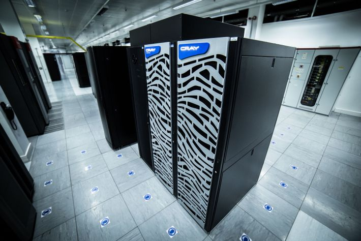 The supercomputers in the Met Office were once amongst the most powerful in the world. Today ...