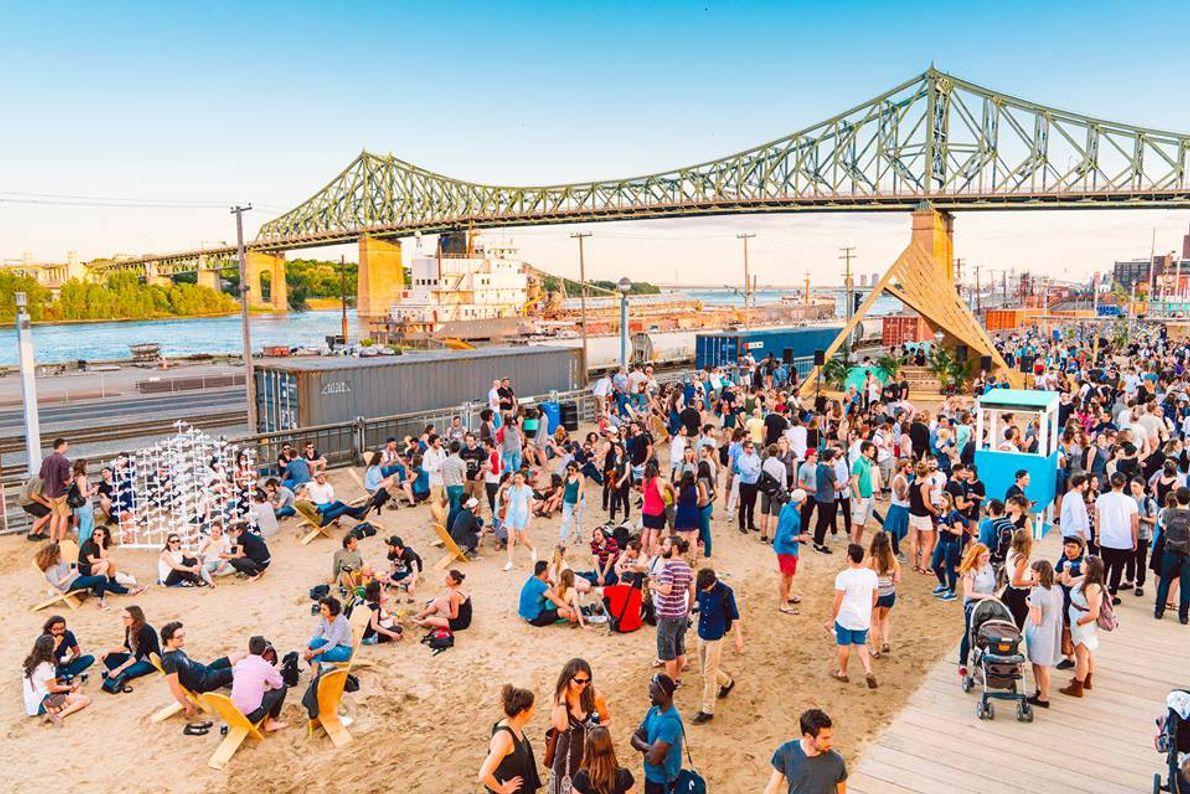The Village au Pied-du-Courant is a dynamic public space that showcases rising talent in design, visual ...