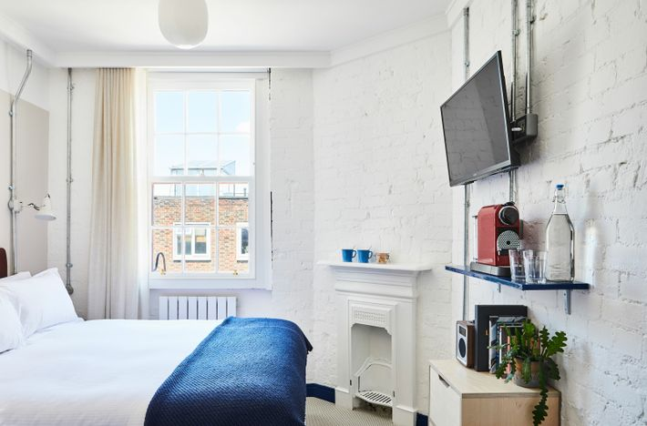 The Buxton is housed in a revamped pub on Brick Lane, with original Victorian features including ...