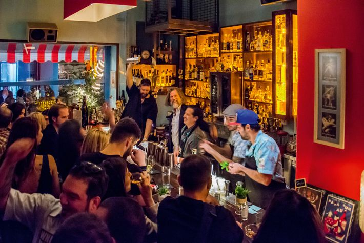 Athens's Baba au Rum bar offers a large range of spiced rums and rum cocktails.