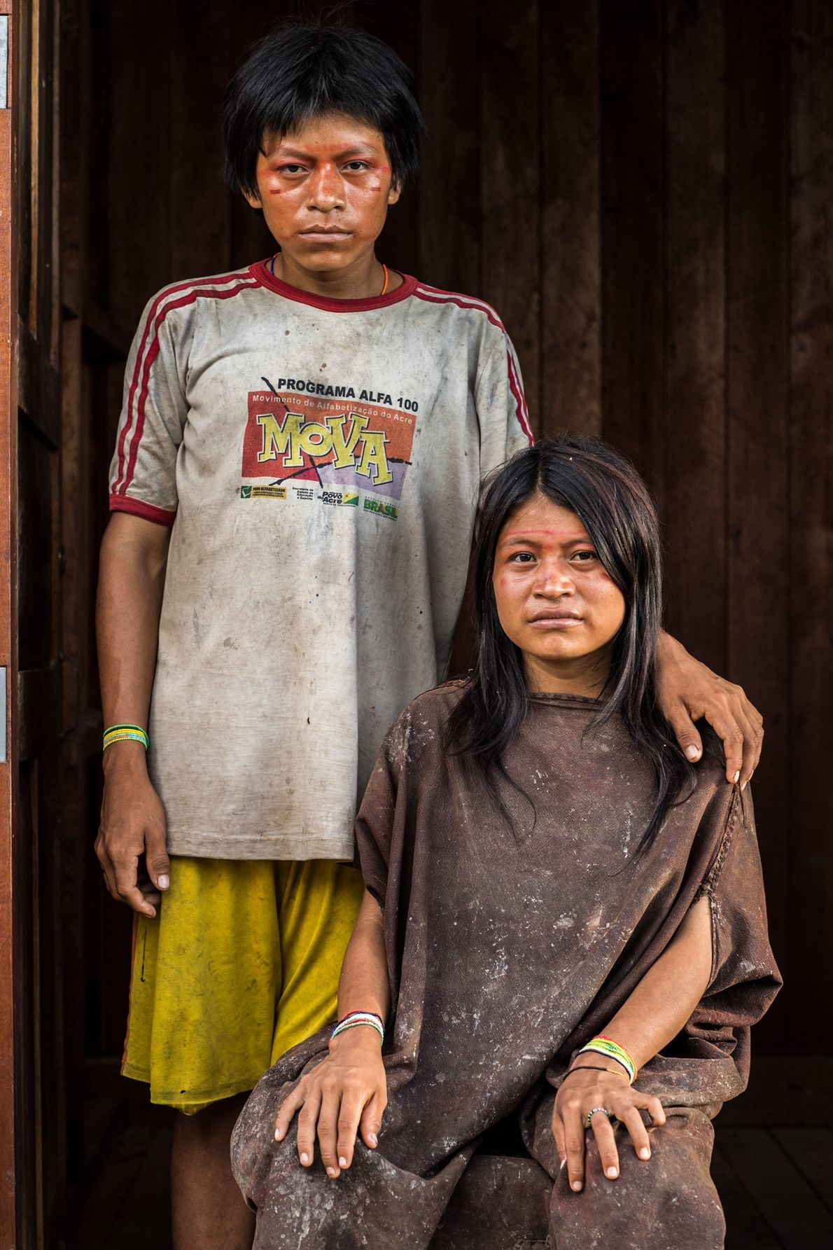 On a family fishing trip in 2005, the mother of Robaldo Malengama Mañaningo and Dicia Malengama ...