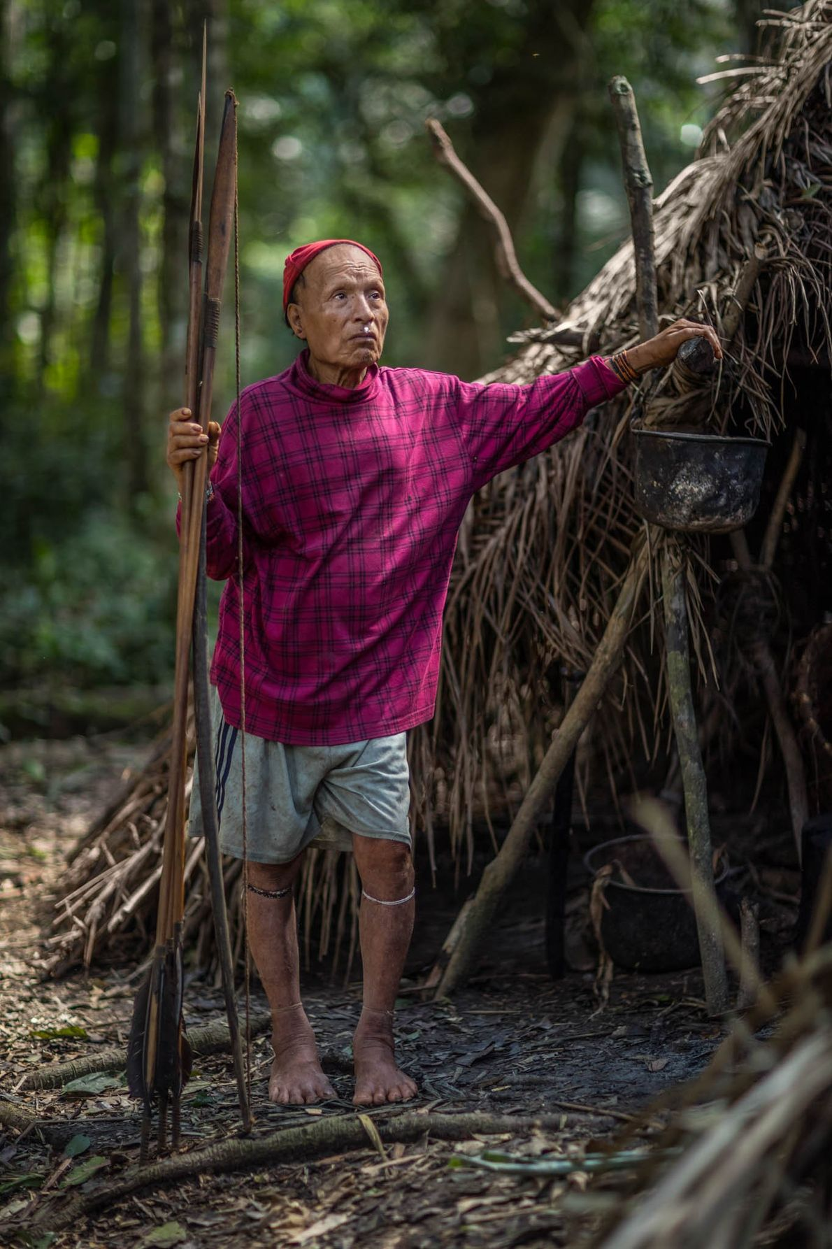 When missionaries contacted some of the Mastanahua tribe in 2003, only Shuri, his two wives, and ...