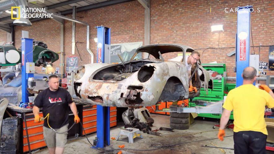 Car SOS - Porsche 356