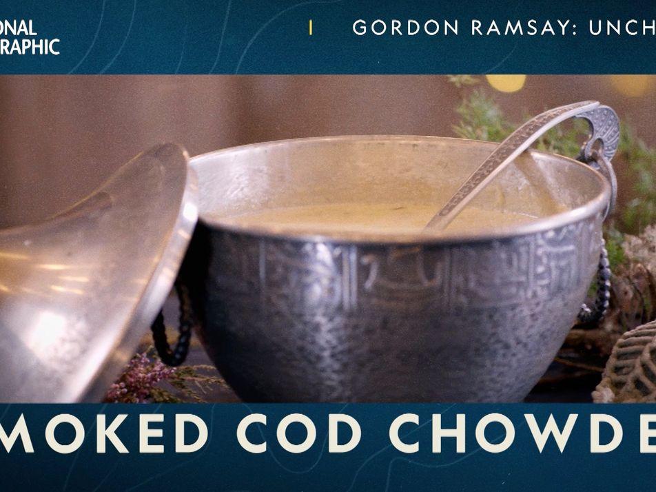 Norway: Smoked Cod Chowder