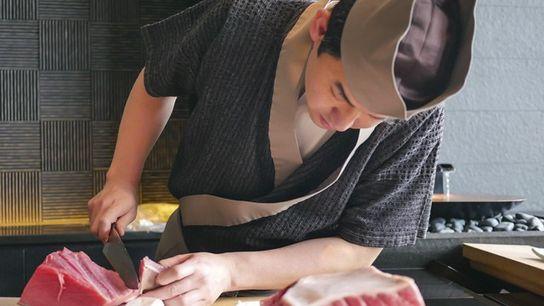 Chef at Sushi Sora