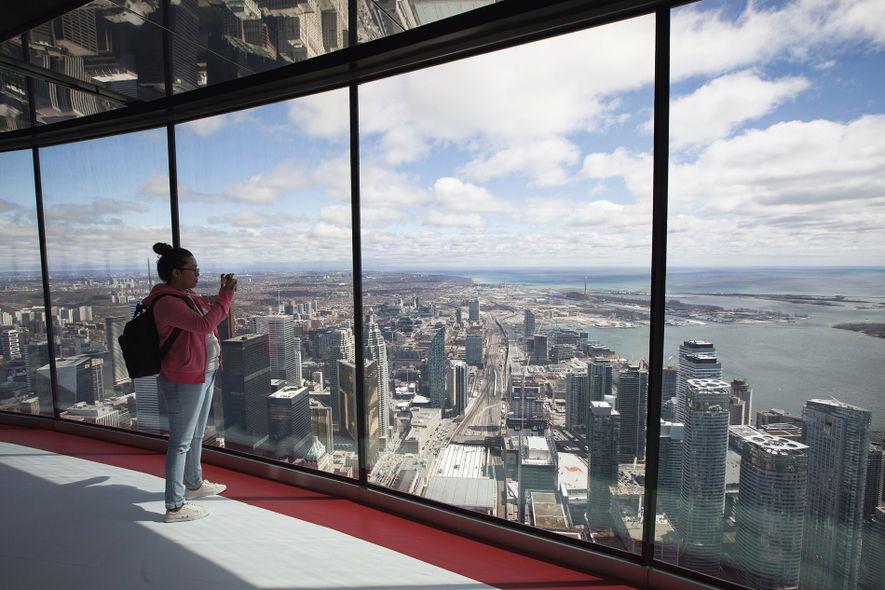 New viewing platform, NC Tower